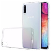 Husa Screen Geeks Tpu Ultra Thin Samsung Galaxy A70 [Transparent]