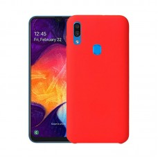 Husa Samsung Galaxy A30 Original Silicon [Red]