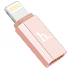 Adapter Hoco lightning to microUSB (Rose/Gold)