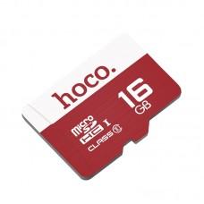 Карта памяти Hoco (Class 10), MicroSDHC, 16 GB
