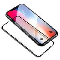 Sticla protectoare iPhone X Screen Geeks Full Cover All Glue Zero Frame Black