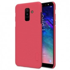 Husa + Folie ecran Samsung Galaxy A6+ (2018) Nillkin Super Frosted Shield Red