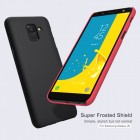 Husa + Folie ecranSamsung Galaxy J4 (2018) Nillkin Super Frosted Shield Red