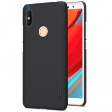 Чехол + Пленка для Xiaomi RedMi S2/Y2 Nillkin Super Frosted Shield Black