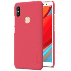 Чехол + Пленка для Xiaomi RedMi S2/Y2 Nillkin Super Frosted Shield Red