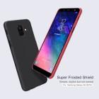 Чехол + Пленка для Samsung Galaxy  A6 (2018)  Nillkin Super Frosted Shield Red
