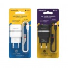 Incarcator de retea Borofone BA24A Vigour + Cablu Micro USB (2.1A) [Black]