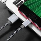 Cablu Borofone BX24 Ring Micro USB (1m) [Gray]