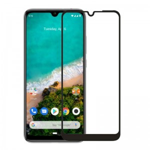 Защитное стекло Screen Geeks Full Cover All Glue Xiaomi Mi A3 [Black]