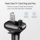 FM Modulator Baseus S-13 Bluetooth MP3 Vehicle Charger (PPS QC) [Black]