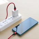 Cablu Borofone BU11 Tasteful Lightning (1.2m) [Red]