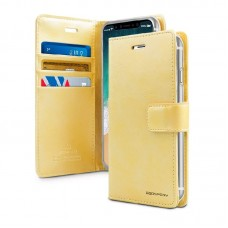 Husa Goospery Mercury Blue Moon Wallet Apple iPhone X / XS [Gold]