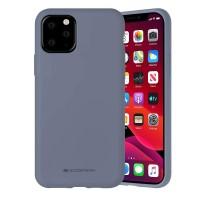Husa Goospery Mercury Liquid Silicone Apple iPhone 12 Pro Max [Lavender]