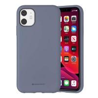 Husa Goospery Mercury Liquid Silicone Apple iPhone 11 [Lavender]
