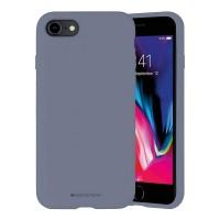 Husa Goospery Mercury Liquid Silicone Apple iPhone SE 2020 [Lavender]
