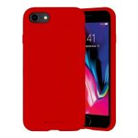 Husa Goospery Mercury Liquid Silicone Apple iPhone SE 2020 [Red]