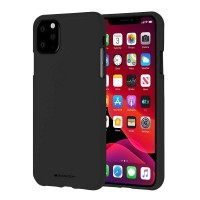 Husa Goospery Mercury Soft Feeling Apple iPhone 11 Pro Max [Black]