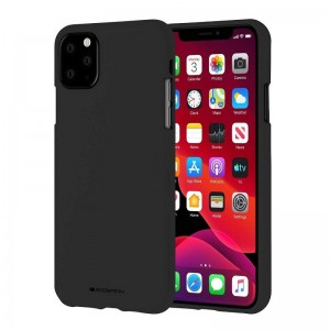 Чехол Goospery Mercury Soft Feeling Apple iPhone 11 Pro Max [Black]