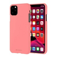 Husa Goospery Mercury Soft Feeling Apple iPhone 11 Pro Max [Pink]