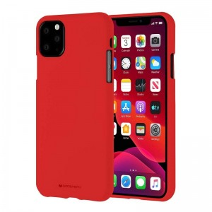 Чехол Goospery Mercury Soft Feeling Apple iPhone 11 Pro Max [Red]