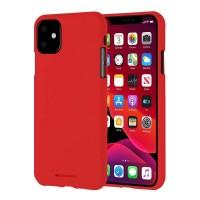 Husa Goospery Mercury Soft Feeling Apple iPhone 11 [Red]