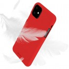 Husa Goospery Mercury Soft Feeling Apple iPhone 11 [Red]