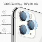 Sticla protectoare pentru camera Hoco V11 Apple iPhone 11 Pro (2 buc) [Clear]