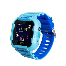 Ceas cu GPS pentru copii Wonlex KT03 (IP67 & Camera) [Blue]