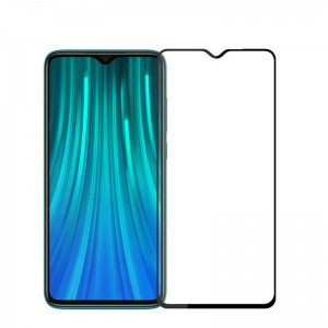 Защитное стекло Xiaomi Redmi Note 8 Pro Screen Geeks Full All Glue [Black]