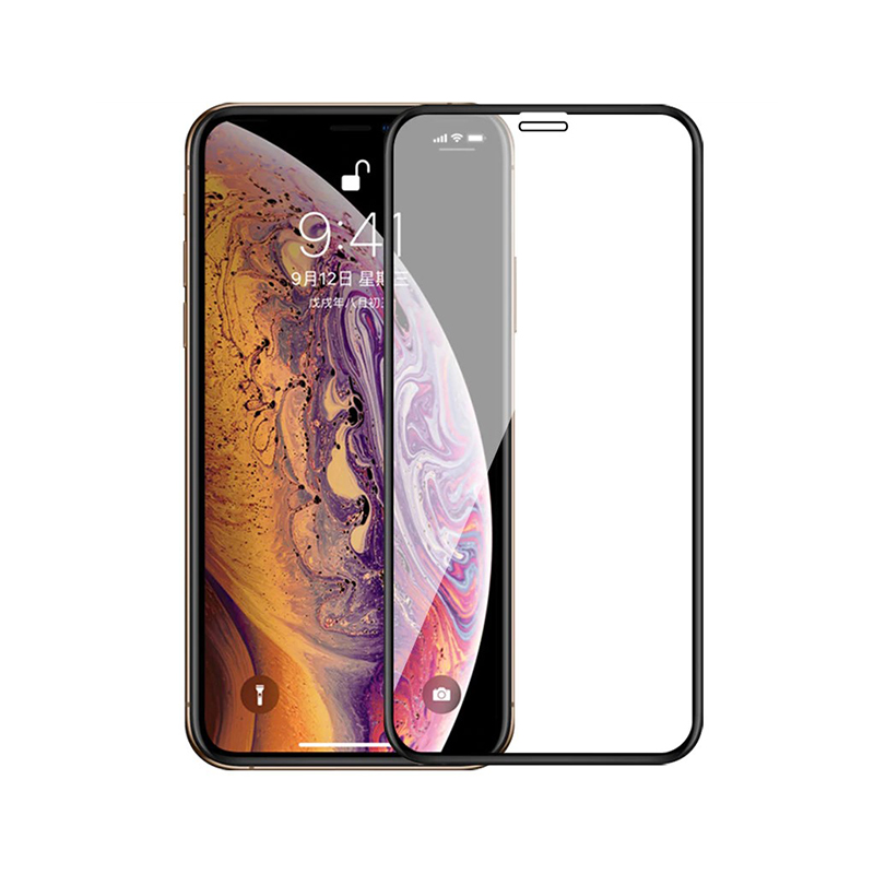 Sticla protectoare Apple iPhone 11 Screen Geeks 4D [Black]