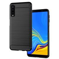 Husa Samsung Galaxy A7 (2018) Screen Geeks Rugged Armor (Black)