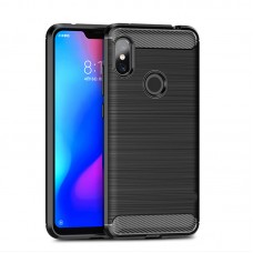Husa Xiaomi Redmi Note 6 Pro Screen Geeks Rugged Armor Black