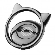 Baseus Cat Ear Ring Bracket (Black)
