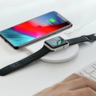 Baseus Smart 2 in1 Wireless Charger (White)