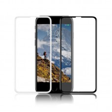 Защитное стекло Baseus 0.23 mm Silk-screen Tempered Glass Film For iPhone 6/6S (Narrow side type) (White)