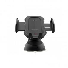 Suport Auto Hoco CA32 Platinum infrared auto-induction car phone holder (Black)