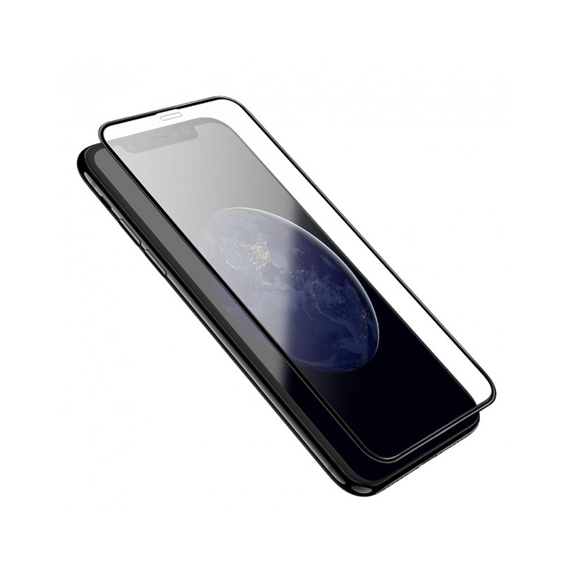 Sticla protectoare Hoco Nano (A12) 3D full screen edges protection tempered glass for iPhone XR (Black)