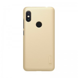 Чехол Nillkin Frosted Shield for Xiaomi Red Mi Note 6 Pro (Gold)