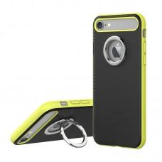 "Чехол для iPhone 7 ""Rock Ring Holder"" Green"