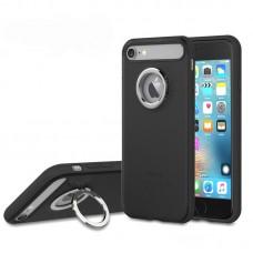 """Чехол для iPhone 7 """"Rock Ring Holder"""" Black"""