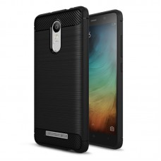 Husa Xiaomi Redmi Note 3 Screen Geeks Rugged Armor Black