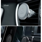 Suport auto Baseus Magnetic Air Vent Holder (with Сable Сlip) [Silver]