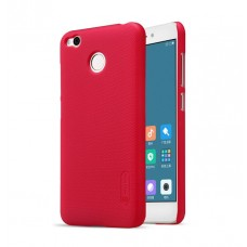 Чехол + Пленка для Xiaomi RedMi 4x Nillkin Super Frosted Shield Red