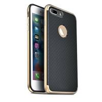 Husa iPhone 7 Screen Geeks Slim Armor Black / Gold