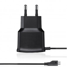 Cетевое зарядное устройство Micro USB Screen Geeks 1A Black
