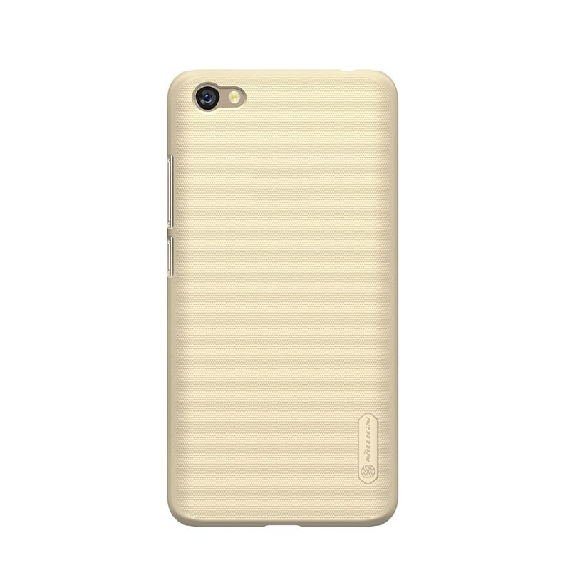 Husa + Folie ecran Xiaomi RedMi Note 5a Nillkin Super Frosted Shield Gold