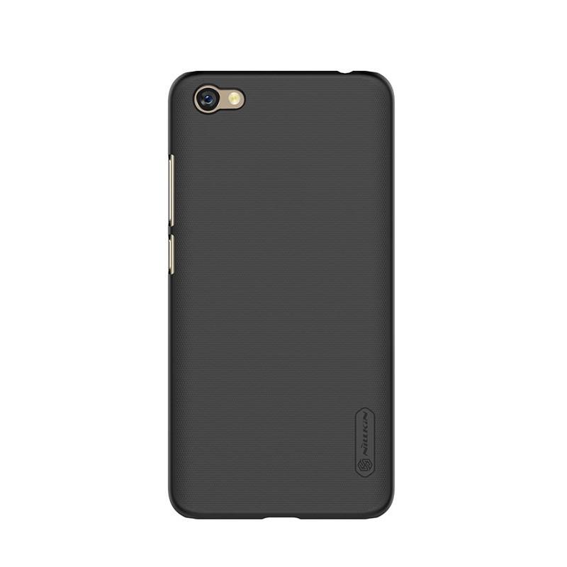 Husa + Folie ecran Xiaomi RedMi Note 5a Nillkin Super Frosted Shield Black