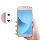 Husa + Folie ecran Samsung Galaxy J7 (2017)  Screen Geeks TPU Ultra Thin Transparenta