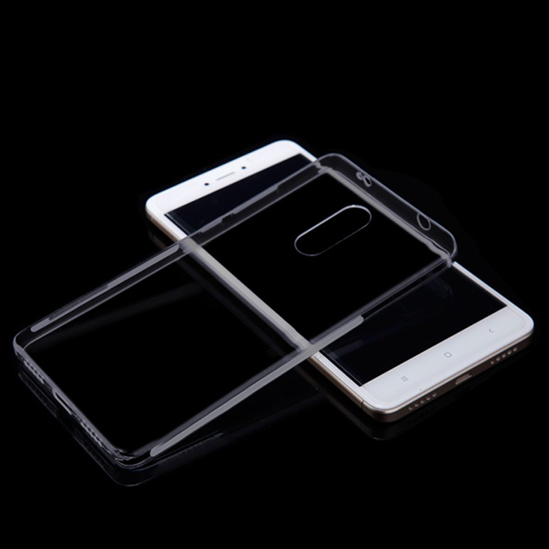 Husa + Folie ecran Xiaomi Redmi Note 4x Screen Geeks TPU Ultra Thin Neagra Transparenta