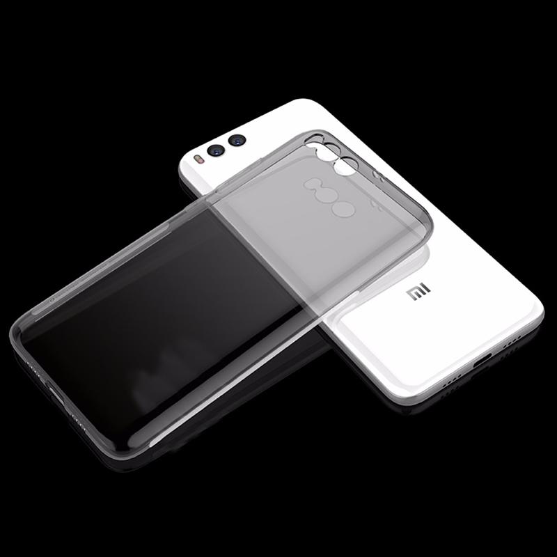Husa + Folie ecran Xiaomi Mi6 Screen Geeks TPU Ultra Thin Neagra Transparenta